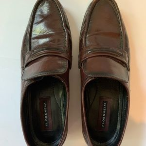Florsheim men's leather loafers